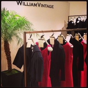 more again Williamvintage in #Selfridges featuring 60s Madame Gres, 50s Balenciaga, 70s Halston and more.