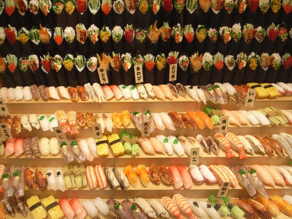 101 Kinds of Sushi in Japan ~ not recipes, but a great guide with pictures to identify what is what!
