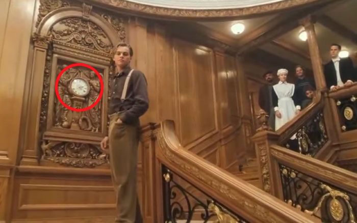 At The End Of Titanic, The Clock Says 2:20. Titanic Sank At 2:20 Am | Titanic, Movies, Movie theater