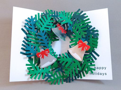 17 best card images on pinterest holiday cards christmas cards moma sabuda pop up wreath holiday cards with happy holidays greeting set8 m4hsunfo Image collections