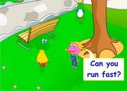 Actions: Can you run fast?