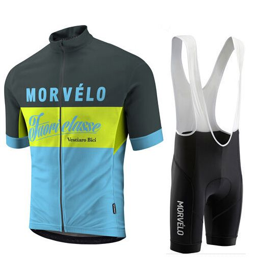 2016 ropa ciclismo Summer TEAM cycling morvelo Breathable Pro Bicycle Wear MTB Cycling Clothing cycling sets Bike shirt