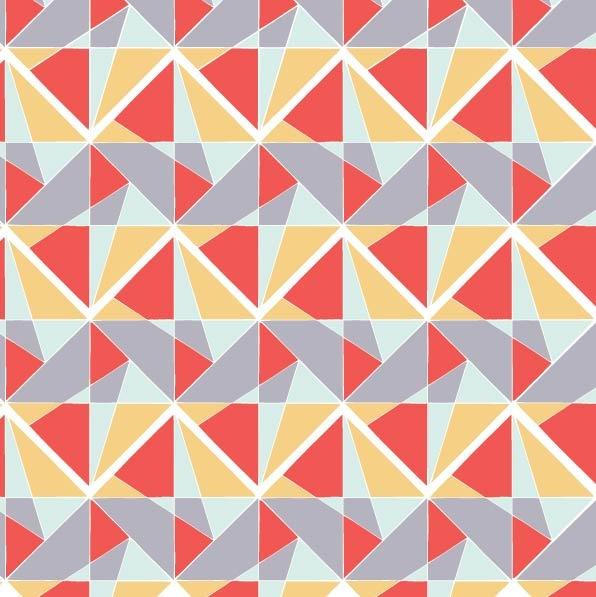 Symphonic Geometry #geometric #colour #pattern #surface pattern design