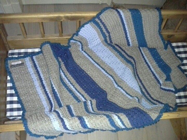 Blanket for babybed