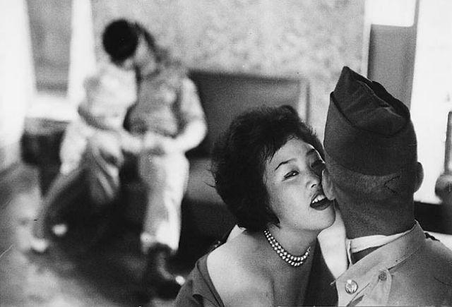 Photography by Rene Burri. Tae Soe Dong, South Korea. 1961.