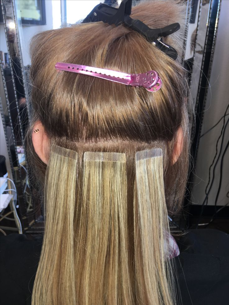 Bohyme Tape In Hair Extensions Image Collections Hair Extensions