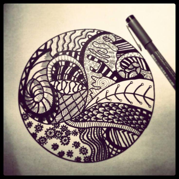 #drawing #art #black #pen #fineliner #kennyderidder