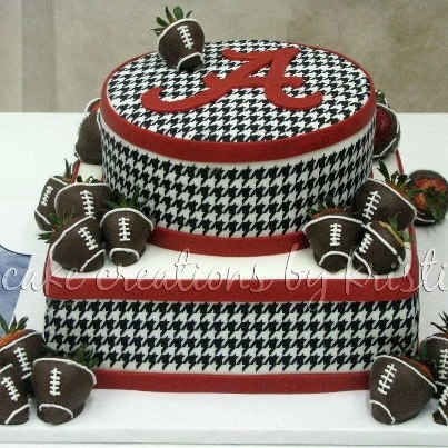 "Help, I need a cake like this by June 22, not footballs, or something similar, serving ""many""!"