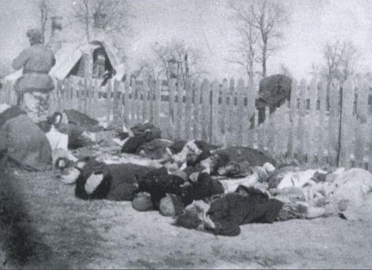 Polish population of Ukrainians murdered by the UPA, Volyn 1943