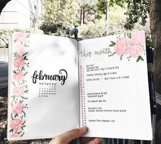 39 Steal Worthy Monthly Page Layout Ideas for your Bullet Journal Oodles of bullet journal ideas for you to