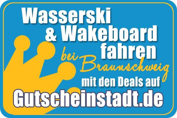 Mit Glück günstig #Wasserski & #Wakeboard fahren in #Braunschweig mit…