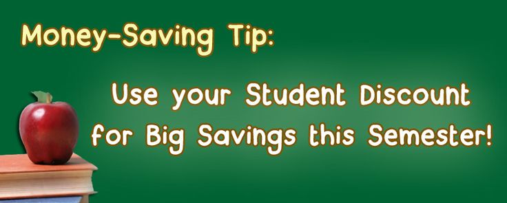 Use Your Student Discount to Make Your Budget Go Further