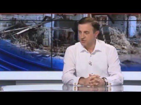 Адекватный журналист прорвался на Укро -ТВ... Ведущие эфира в панике!