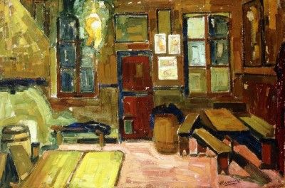 interior design team interior 1904 05 by maurice de vlaminck 1876 1904