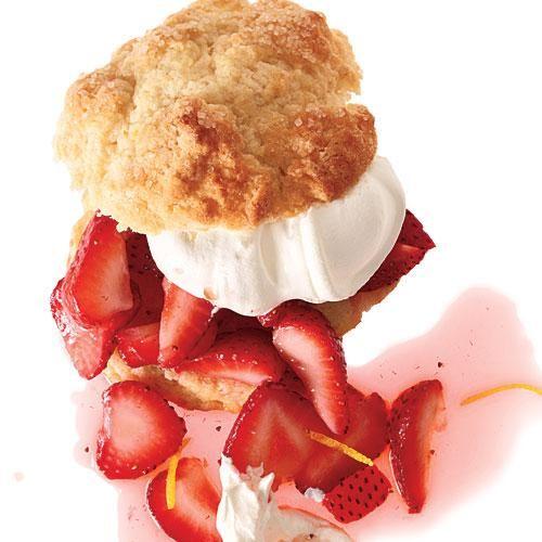 Strawberry-Lemon Shortcakes Recipe | CookingLight.com