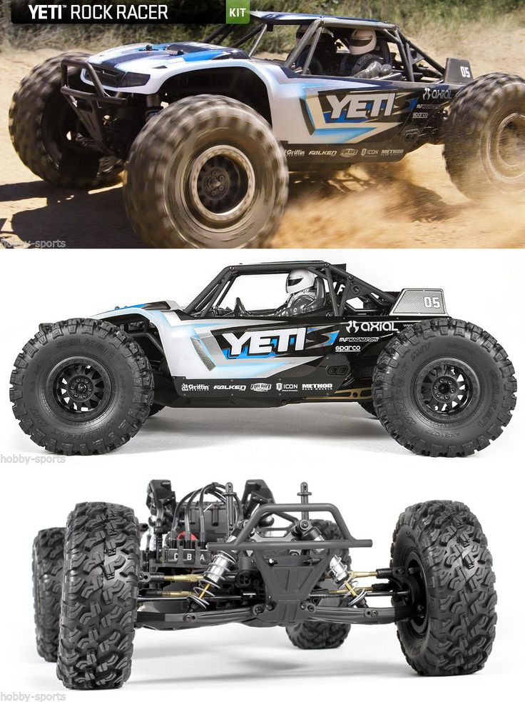 Cars Trucks and Motorcycles 182183: Axial Racing 1 10 Electric Yeti 4Wd Rock Racer Crawler Rc Kit Ax90025 -> BUY IT NOW ONLY: $329.99 on eBay!