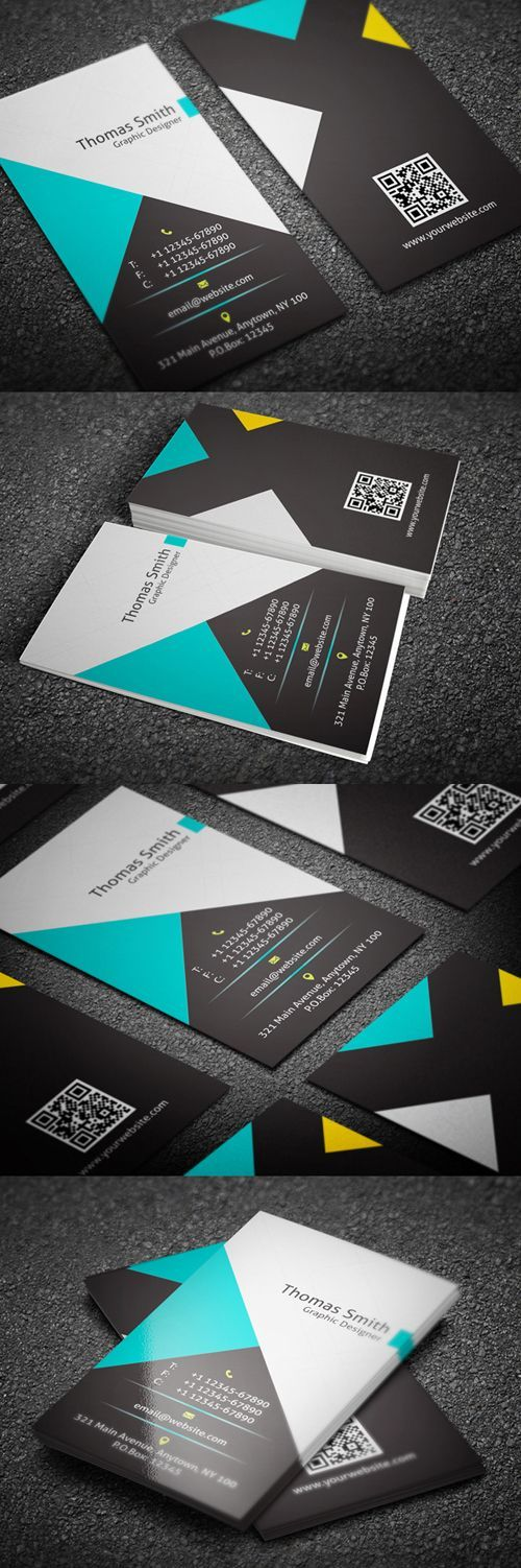 Creative Personal Business Card Template  #businesscard #businesscards #businesscardsdesign #businesscardtemplates
