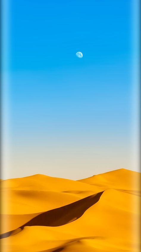 2.5D curved edge effect on Full HD wallpapers for mobile phones and tablets