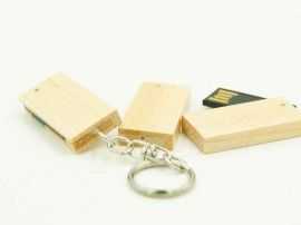 Mini Rotate Wood USB Drive 5