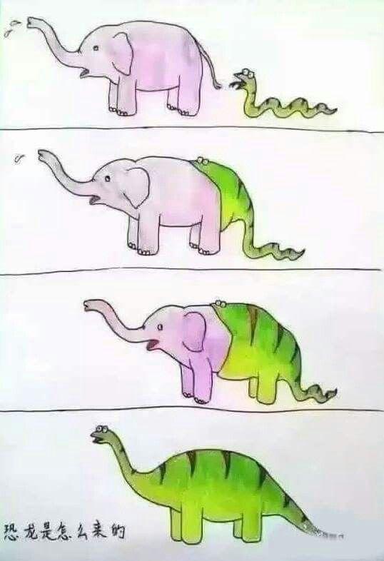 Het ontstaan van dinosaurus