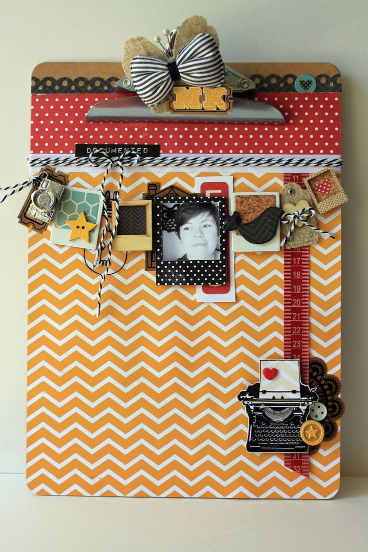 Altered clipboard shared with us by Mandy Kay Starner using our 24/Seven collection