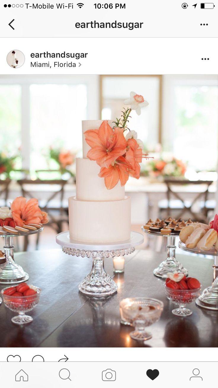 Beautiful gluten free wedding cake!