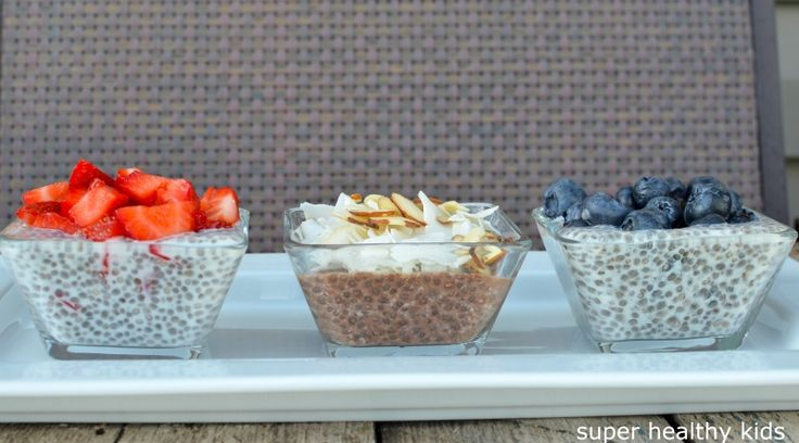 Chia Seed Champion Pudding {Healthy Dessert for Kids} | Healthy Ideas for Kids