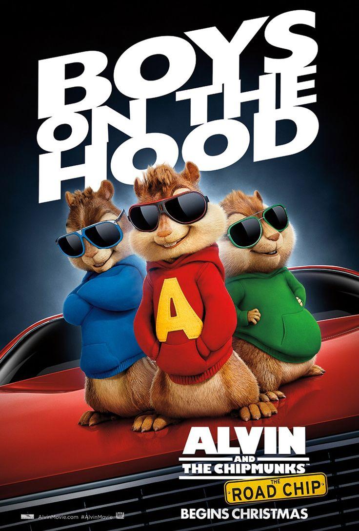 Mejores 10 imágenes de Alvin and the Chipmunks: The Road Chip en ...