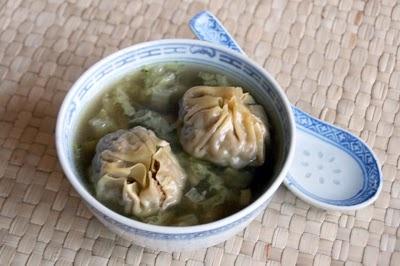 Wonton soep (recipe in dutch)