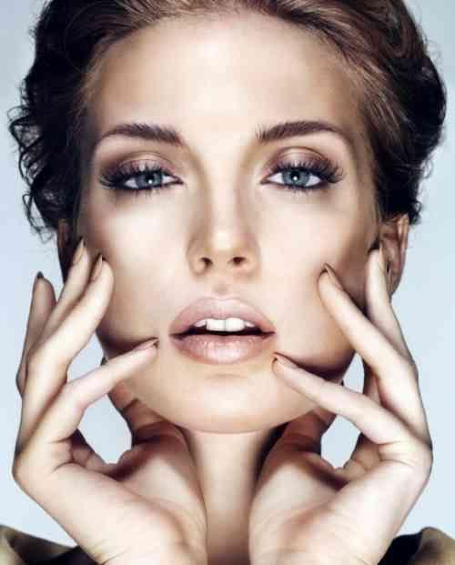 maquillage original yeux marrons