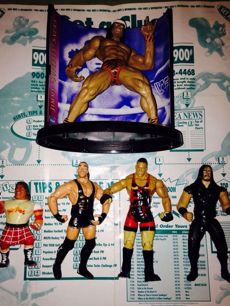 Wwf, Ecw And Wwe Wrestling Figures. Rob Van Dam Undertaker Jimmy Snuka Roddy Pip