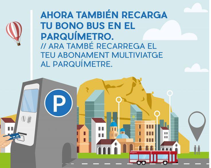 Alicante implanta la recarga de las tarjetas MOBILIS en los parquímetros | Ayuntamiento de Alicante