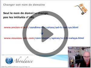 Comment changer de nom de domaine sans perdre son référencement ? Vidéo SEO #nouveaute #new #marketing #seo #referencement #ecommerce #commerce #web #social #media