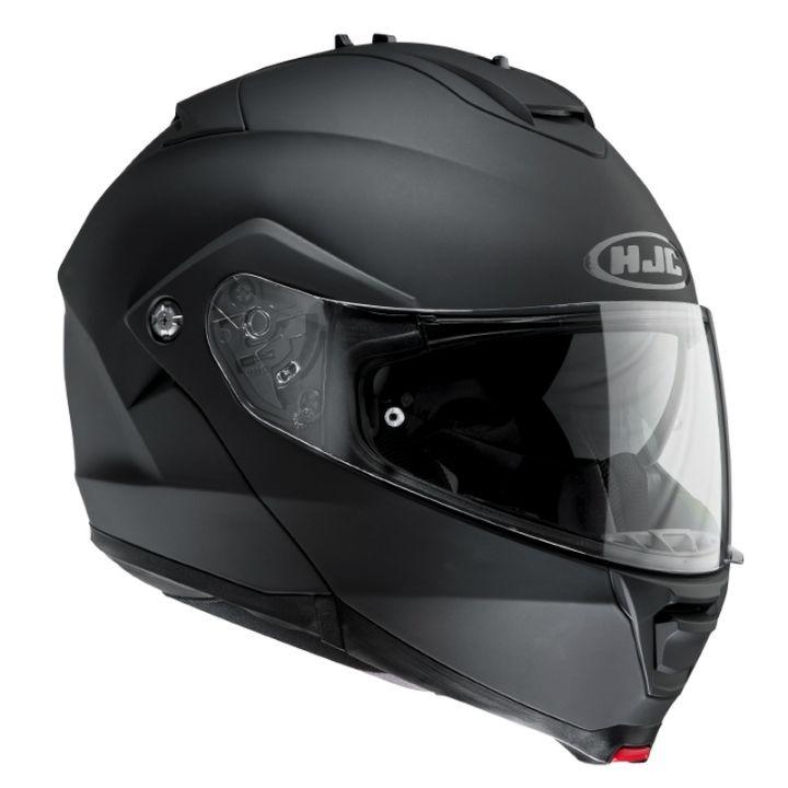 MOTORRADHELM HJC IS-MAX II -- Verstellbare Sonnenblende; kratzfestes Pinlock-Visier im neuen 3D-Design; Wangenpolster und Innenfutter wasch- und auswechselbar