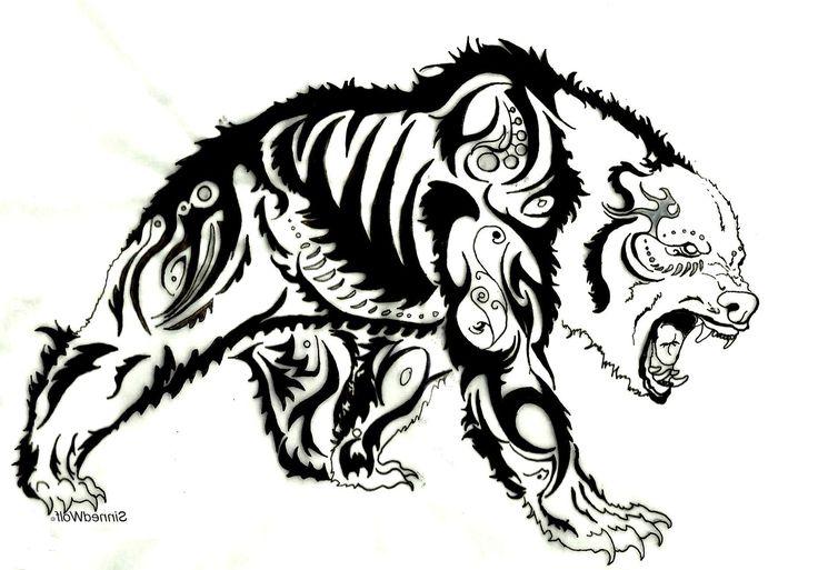 Tribal Bear Tattoo Designs | Cool Tattoos - Bonbaden