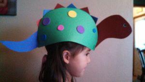 Super cute Dinosaur hat for kids