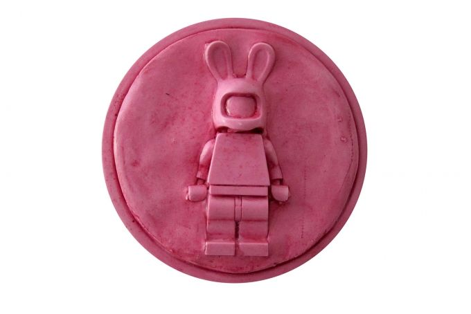 bunny wall plaque by Bigkid Design on hellopretty.co.za