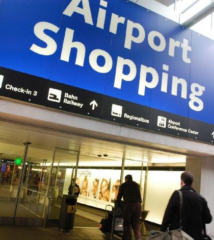 Top 5 airports for shopping