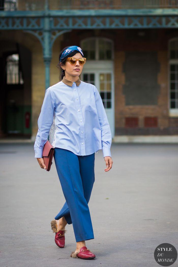Julie Ragolia Street Style Street Fashion Streetsnaps by STYLEDUMONDE Street Style Fashion Photography