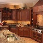 under cabinet lighting in Spaces Traditional with LED lighting dimmable kitchen lighting