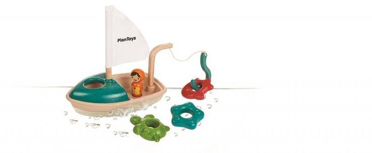 Bateau de Pêche et d'Activités PlanToys - PlanToys - Plan Toys 5693 - NouveautéMotricité fine et jeux éducatifs - C'Ki le Roi Bruxelles - boutique + e-shop - jeux, jouets, livres en ligne