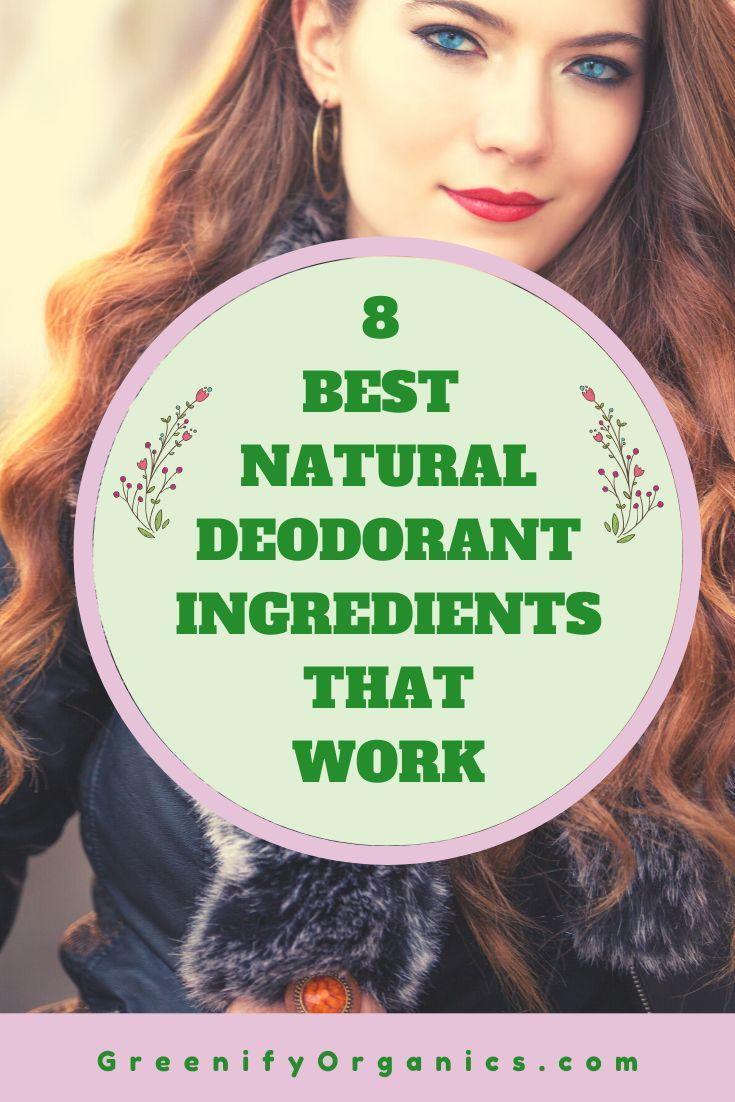 8 Best Natural Deodorant Ingredients That Work in 2020