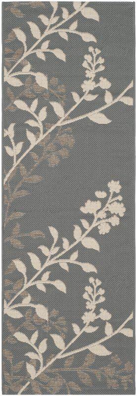 Laurel Anthracite / Beige Indoor/Outdoor Rug