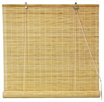 Bamboo Roll Up Blinds in Natural (36 in. Wide tropical-roller-blinds