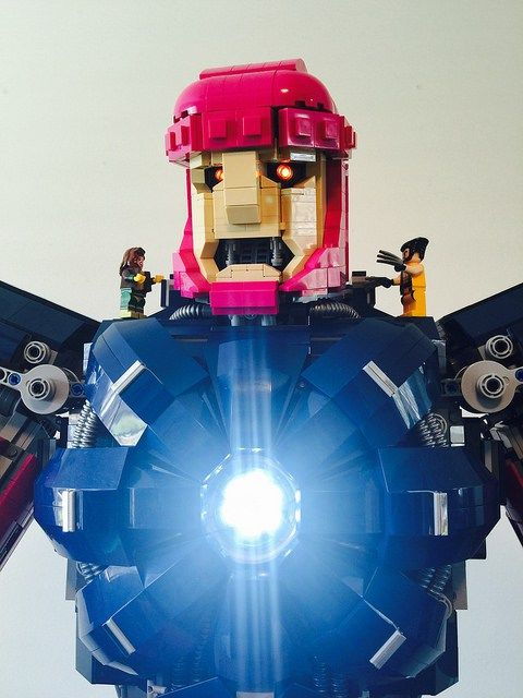 LEGO Sentinel xmen marvel mastermold