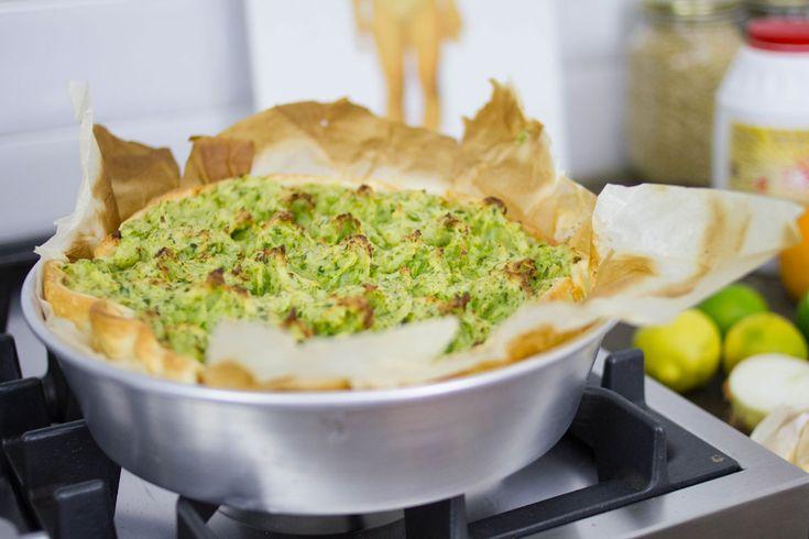 Dopo il nostro viaggio a Lisbona non potevamo non cucinare una ricetta con il baccalà. Prova questa buonissima (e bellissima) Torta salata con baccalà.