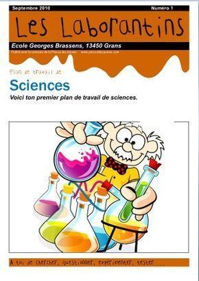 des plans de travail en science : système solaire, loups, levier, volcans, respiration, électricité, mélanges, etc.