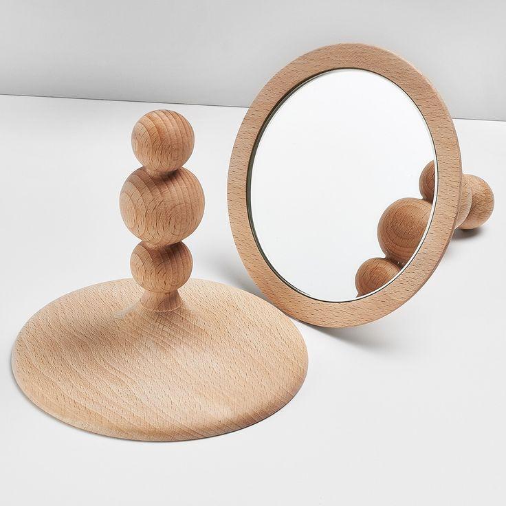 Miroir à poser, Slow Design.  Sur Lovely Market.