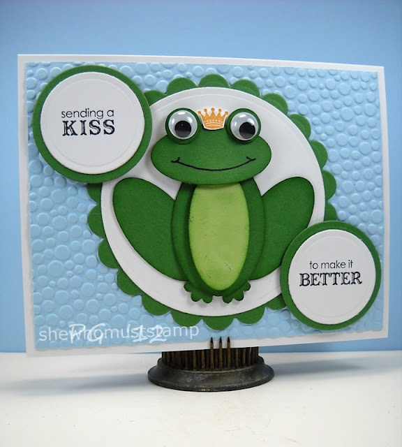 frog punch art-stampin up
