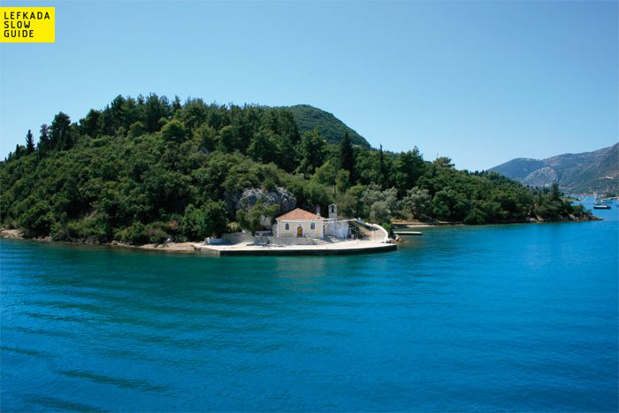 Aghia Kyriaki (Nydri - Smaller Islands and the Surrounding Areas), excursions, Lefkada www.lefkadaslowguide.com